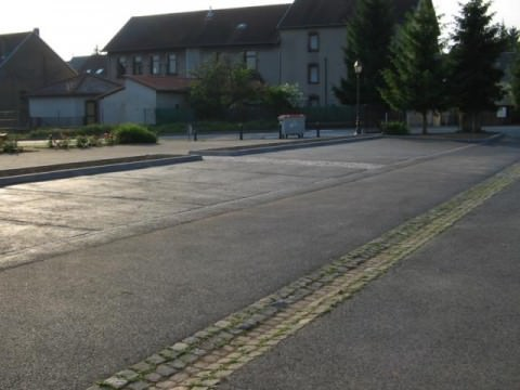 CREATION DE PLACES DE PARKING AU NIVEAU DE LA MAIRIE