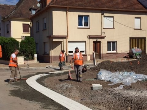 Travaux centre village tranche conditionnelle